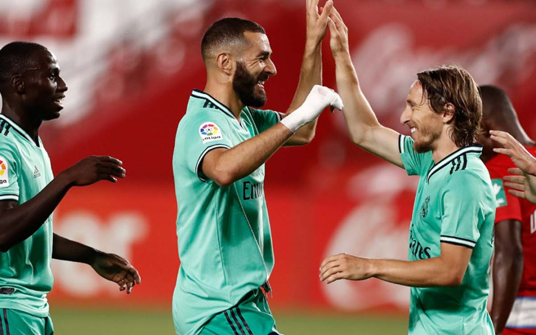 TLC La Liga round-up: Real Madrid edge nearer title with win at Granada, while Atlético and Sevilla ensure Champions League qualification