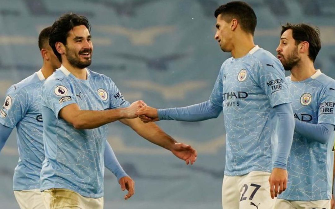 TLC Premier League Round-Up: Man City March On as United Lose Ground and Leicester City Beat Liverpool